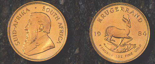 SUD AFRICA, KRUGERRAND ORO (ONCIA)